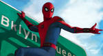Spider Man - Homecoming (On Sign)