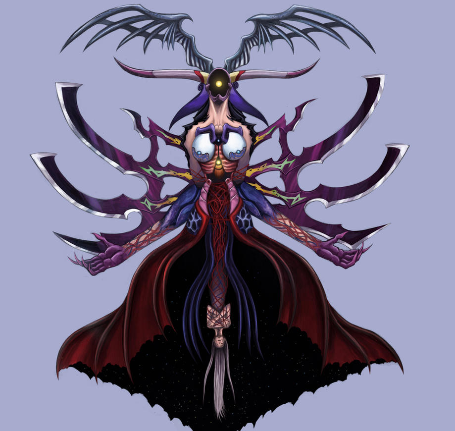 Final Fantasy VIII - Ultimecia Final by SoulStryder210
