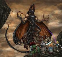 Final Fantasy IX - Deathguise (LV5 Death) by SoulStryder210