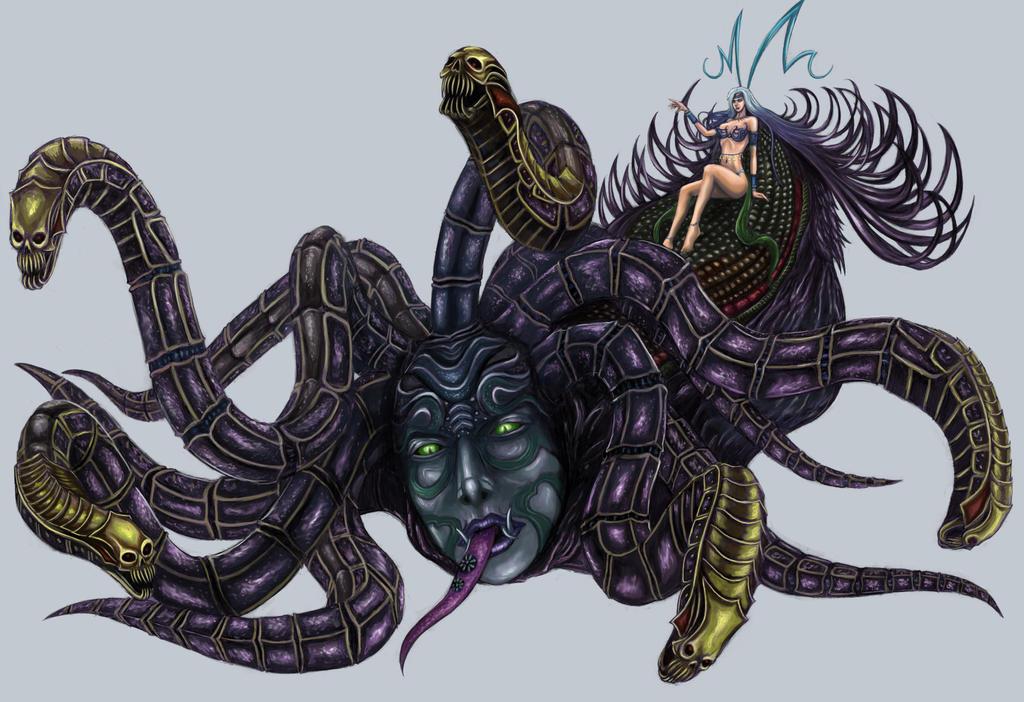 Final Fantasy X - Yunalesca by SoulStryder210 on DeviantArt