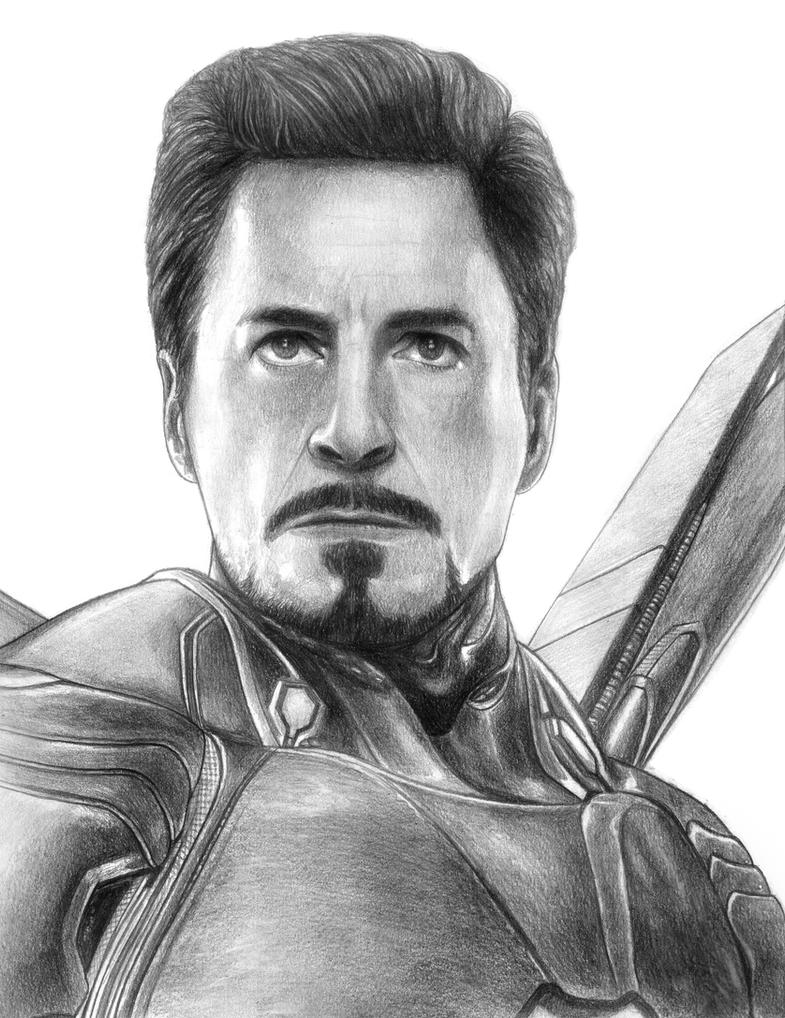 Iron Man (Tony Stark) - Avengers (Infinity War) by ...