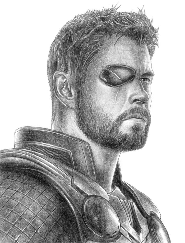 Thor (Avengers - Infinity War) By SoulStryder210 On DeviantArt