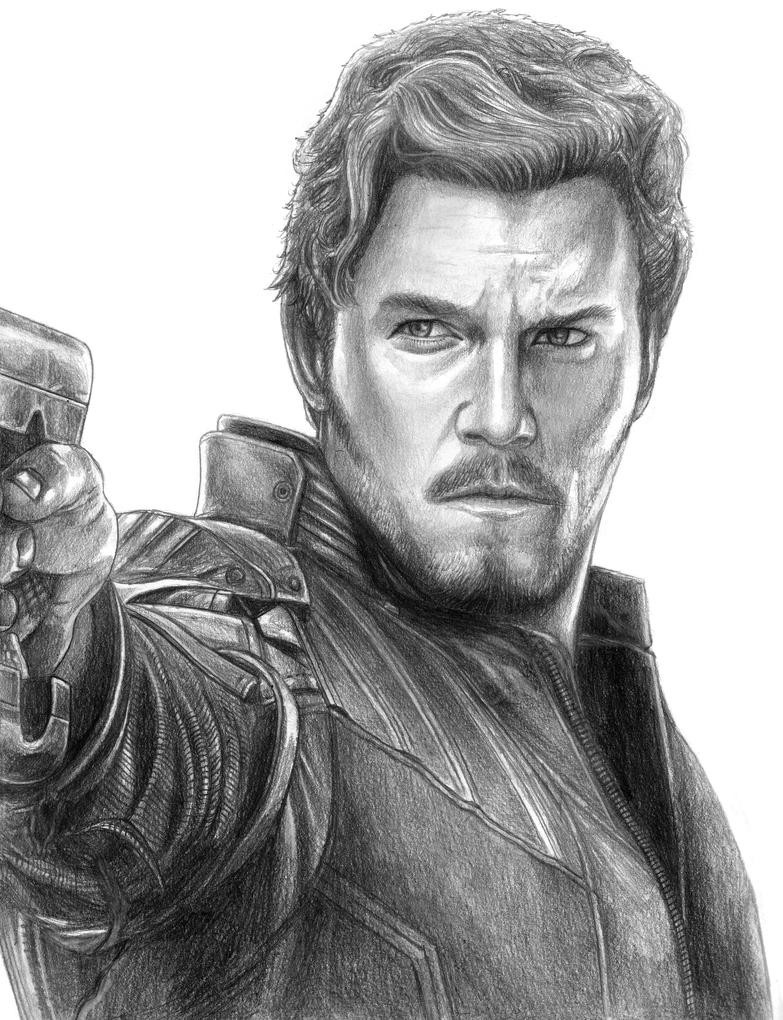 Star-Lord (Peter Quill) - Avengers (Infinity War) by SoulStryder210