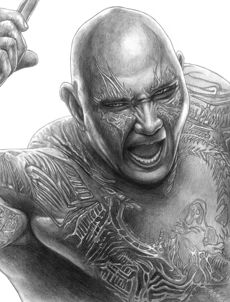 Drax (Avengers - Infinity War) by SoulStryder210