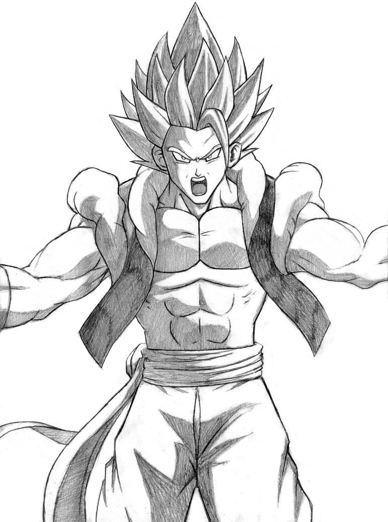 Gogeta Dragon Ball Super Broly By Soulstryder210 On Deviantart