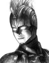 Captain Marvel (Carol Danvers) by SoulStryder210