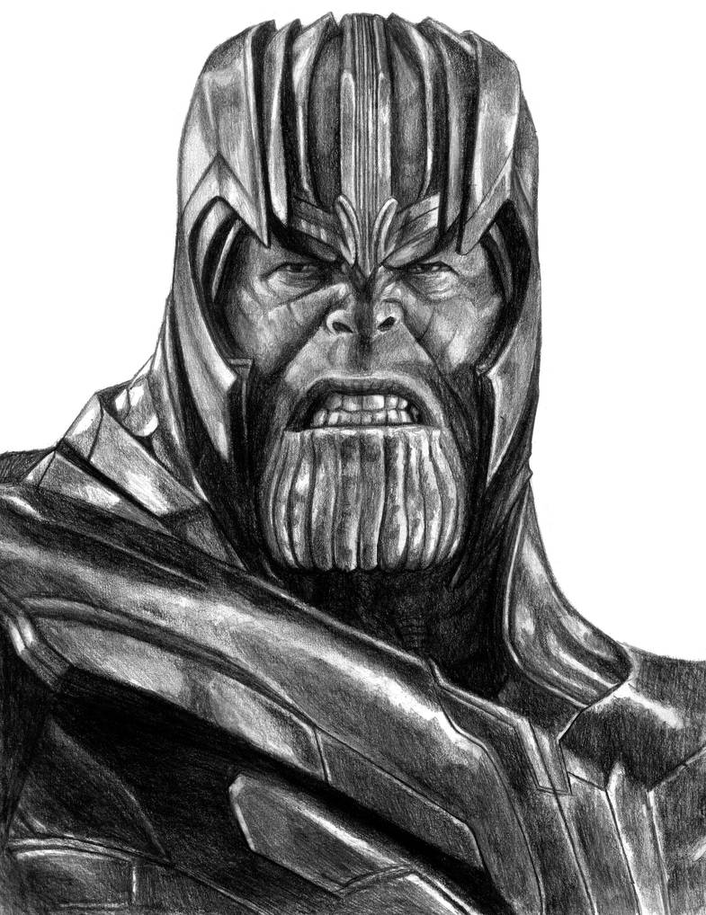 Thanos (Avengers - Endgame) by SoulStryder210