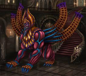 Final Fantasy VIII - Spinxara (Hall Stairway) by SoulStryder210