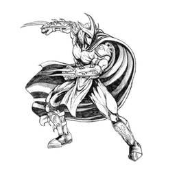 Inktober 2020 (Day 5) - The Shredder