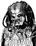 Inktober 2020 (Day 24) - Predator