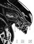 Inktober 2020 (Day 28) - Alien