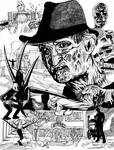 Inktober 2020 (Day 30) - Freddy Krueger