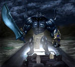 Final Fantasy XV - Iron Giant (Road Block)