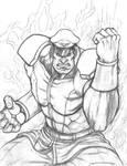 M. Bison (sketch)