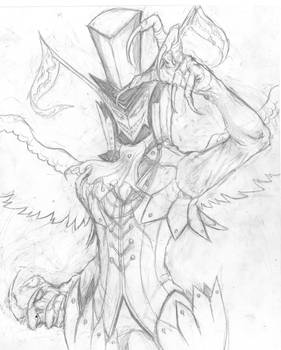 Arsene (Persona 5) sketch