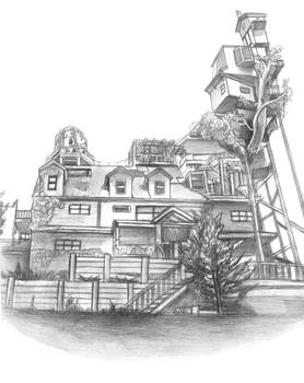What Remains of Edith Finch (House Sketch)