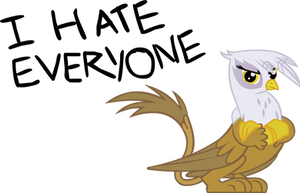 Gilda hates everyone by somekindahatebreeder