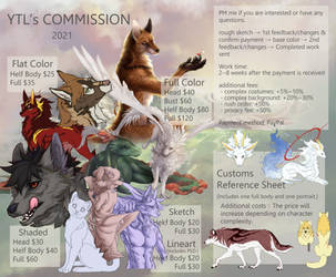 Commission open 2021