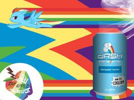 Dash Energy Drink Wallpaper by BronyNero