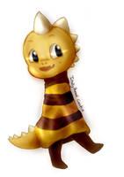 Undertale Monster kid by TotallyBoredCookie