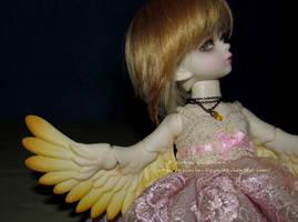 Golden Feathers by Kelaria-Daye