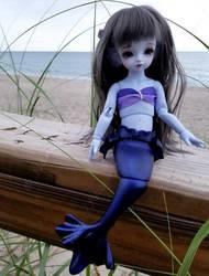 Seaside Mermaid by Kelaria-Daye