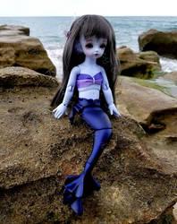 Oceanside Mermaid by Kelaria-Daye