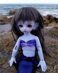 Mermaid by the Sea by Kelaria-Daye