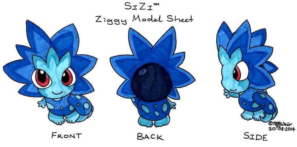 Ziggy Model Sheet *Complete* by trinityweiss