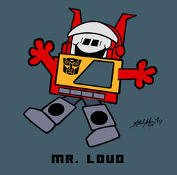 10. Mr. Loud