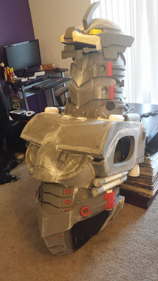 Mechagodzilla Cosplay Progress by GrandArtifice