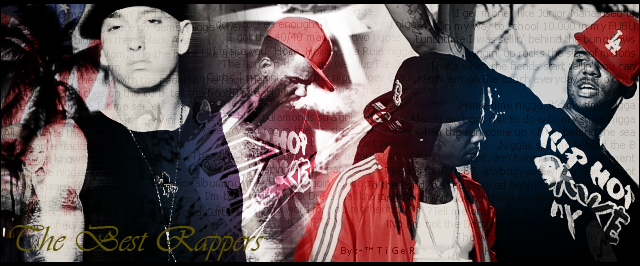 Tha Best Rappers Alive by TiGer4iQ