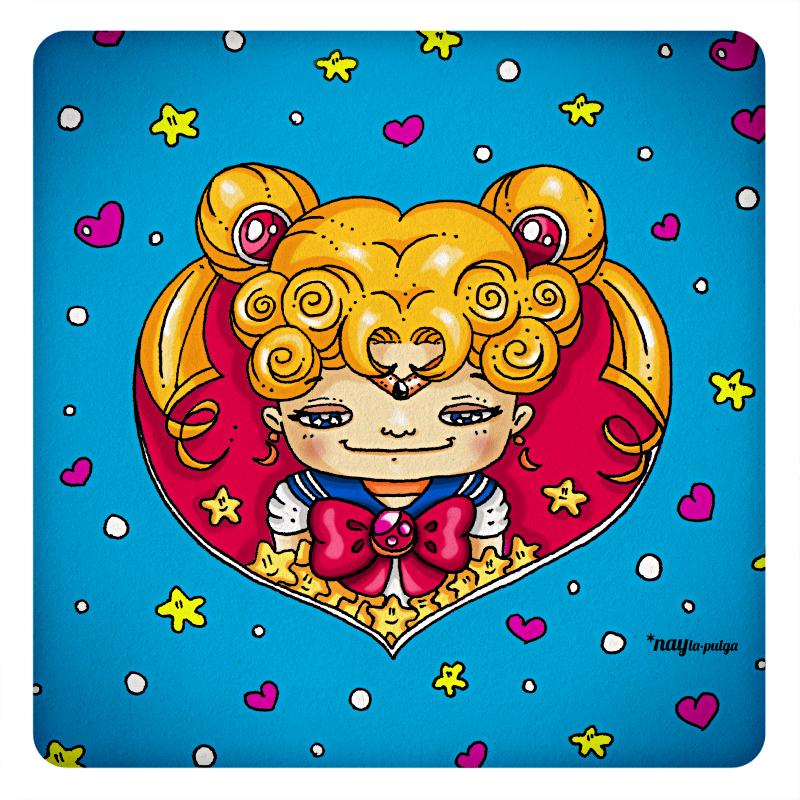 Chibi Sailor Moon in my heart by naylapulga
