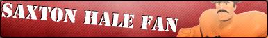 Saxton Hale Fan Button by Mario28037