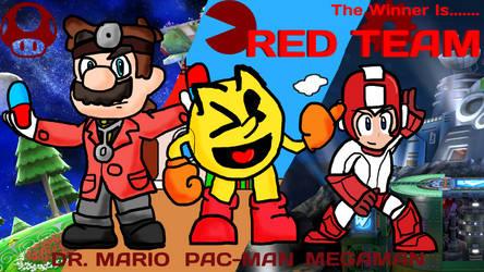 The Doctor, Waka Waka and Robotic-Man