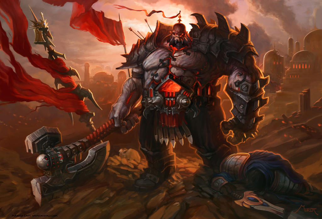 [Deleted]             Is Sion a Human or an Orc? + relationship with Swain