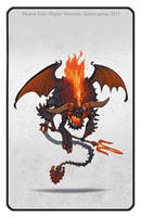 Mighty Monsters Demon Lv1 by Vaejoun