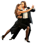 Dancing couple png