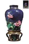 Porcelain vase png