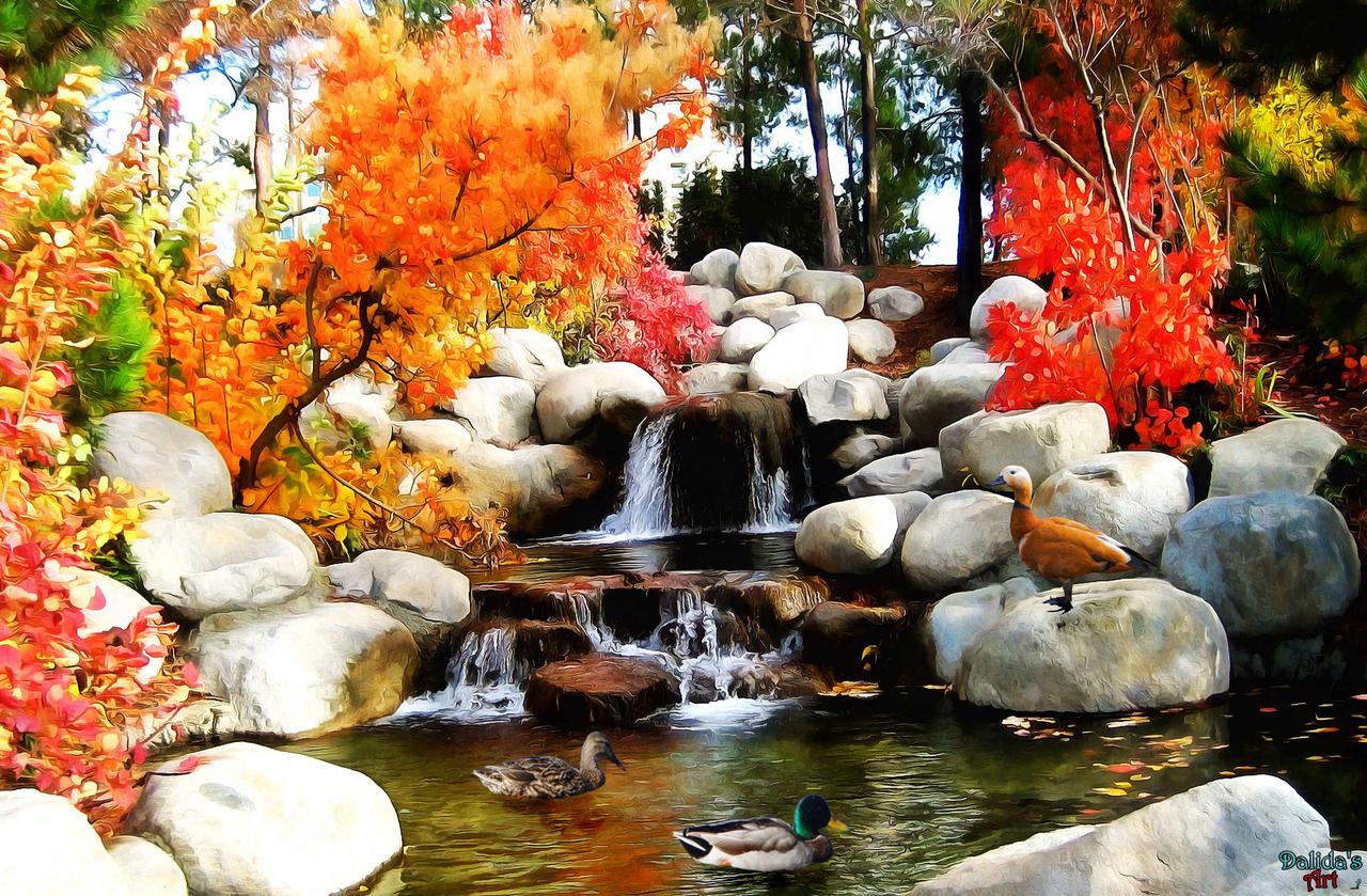 Fairy world (24) Ducks