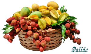 Tropical Fruits Png