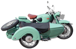 Zundapp-sidecar (old motorcycle sidecar png)