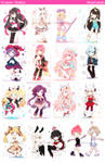 Crayon Chibis [PLS zOOM IN iTS SO BLURRY]