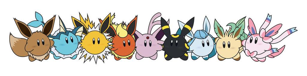 Kirby / Eeveelutions