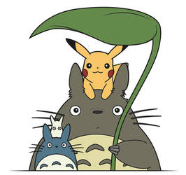 Totoro and Co. by Elenwae
