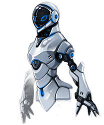 female robot by yunBE