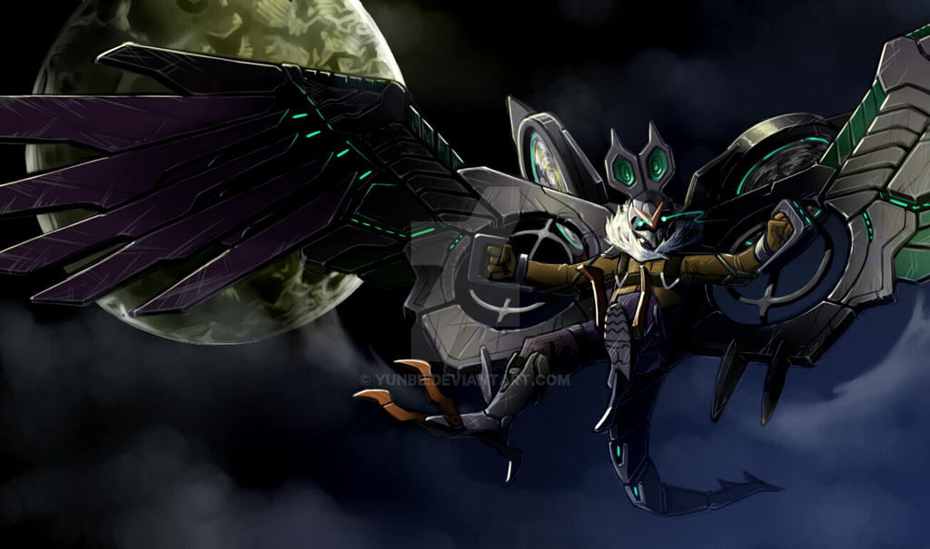 Noivern + Vulture(spider-man Homecoming) By YunBE On