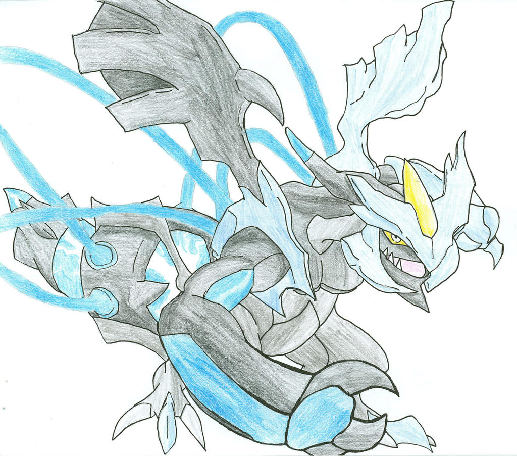My drawing of Black Kyurem by ColorDrake on DeviantArt