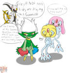 Pokemon Comedy...thing. (Colored)