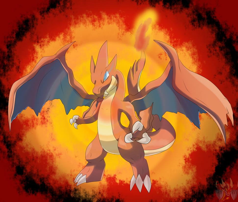 Mega Charizard Y By ColorDrake